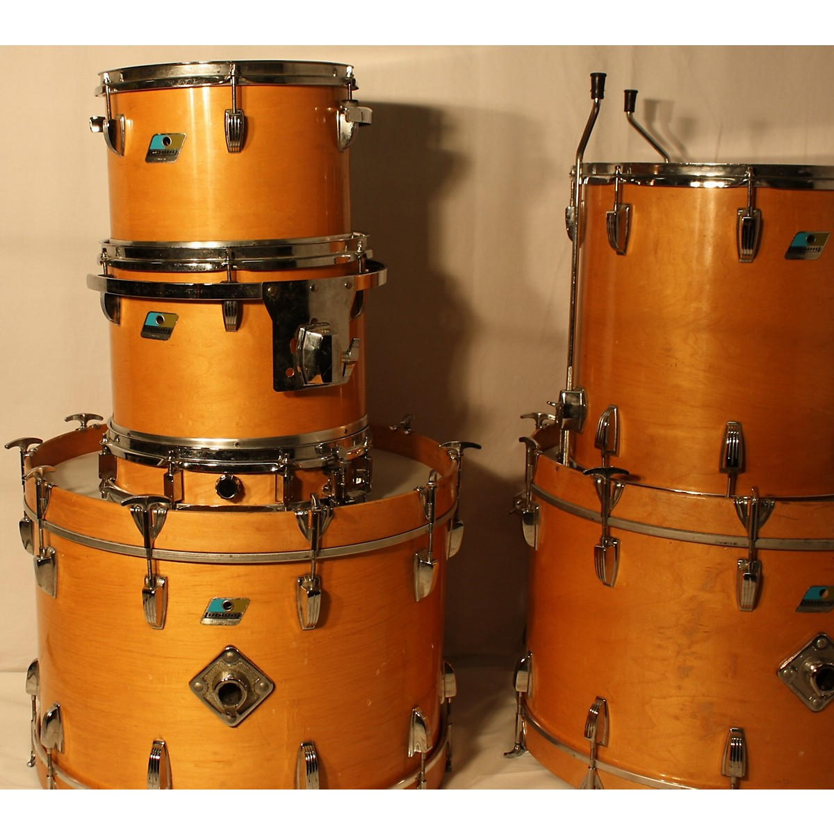 Ludwig 1970s Classic Maple Drum Kit