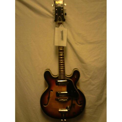 Univox 1970s Coily Hollow Body Electric Guitar