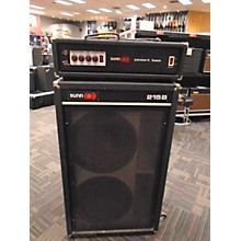 Sunn 1970s Concert Bass Head W/215B Cab Bass Combo Amp