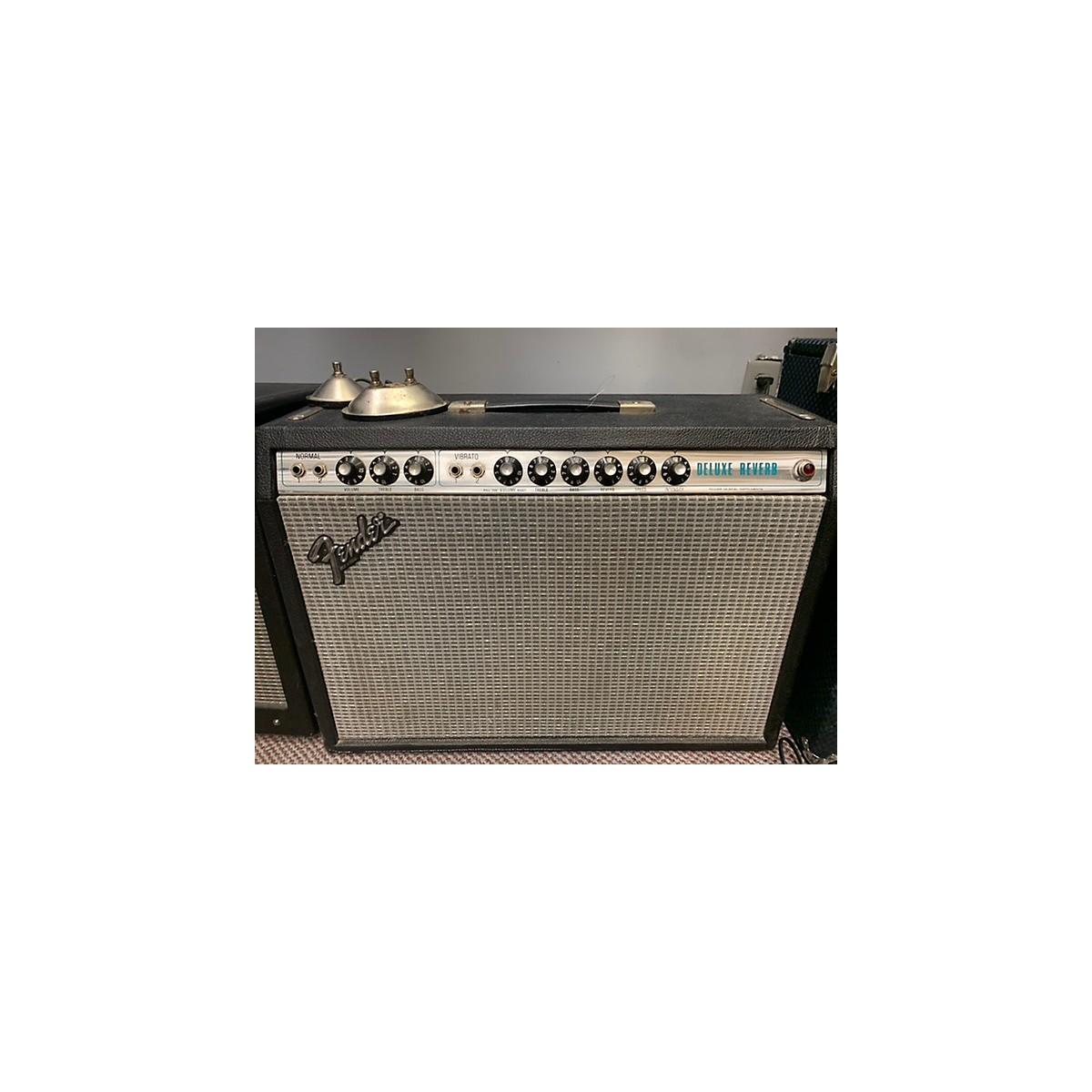 Fender 1970s Deluxe Reverb 22W 1x12 Tube Guitar Combo Amp