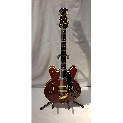 Ovation 1970s Deluxe Thunderhead Hollow Body Electric Guitar