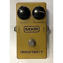 MXR 1970s Distortion Plus Block Effect Pedal