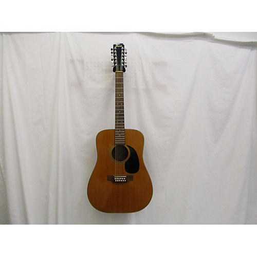 vintage ibanez 1970s dreadnought 12 string acoustic guitar natural guitar center. Black Bedroom Furniture Sets. Home Design Ideas