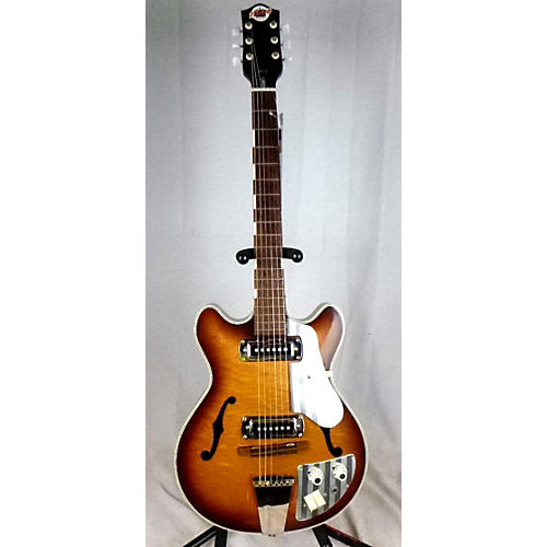Teisco 1970s EP-9 Hollow Body Electric Guitar