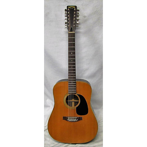 Takamine 1970s F400 12 String Acoustic Guitar