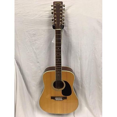 Takamine 1970s F400s 12 String Acoustic Guitar