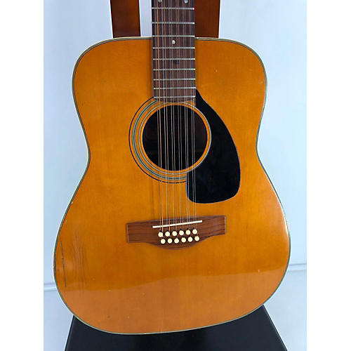 vintage yamaha 1970s fg 230 12 string acoustic guitar natural guitar center. Black Bedroom Furniture Sets. Home Design Ideas
