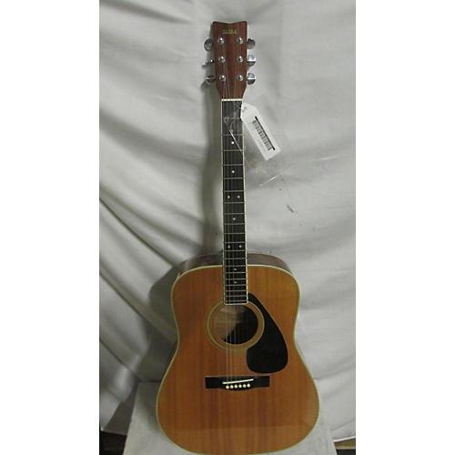 Yamaha 1970s FG200D Acoustic Guitar