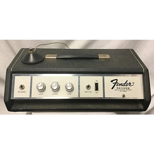 Fender 1970s FR1000 Solid State Reverb Solid State Guitar Amp Head