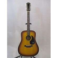 Epiphone 1970s FT-160 Texan 12 12 String Acoustic Guitar