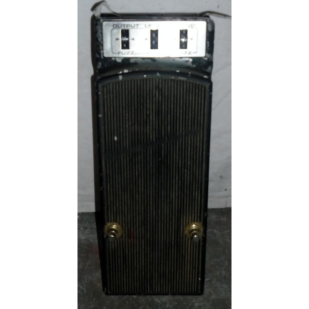 Fender 1970s Fuzz Wah Effect Pedal