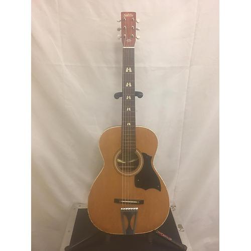 Stella 1970s H-6128 Acoustic Guitar