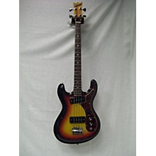 Univox 1970s Hi Flier Electric Bass Guitar