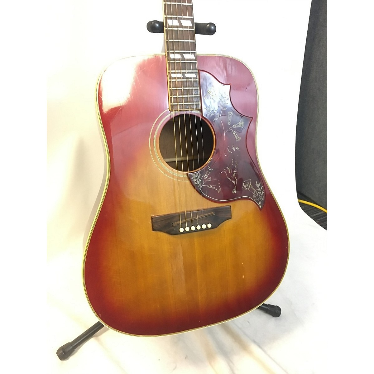 Gibson 1970s Hummingbird Standard Acoustic Electric Guitar