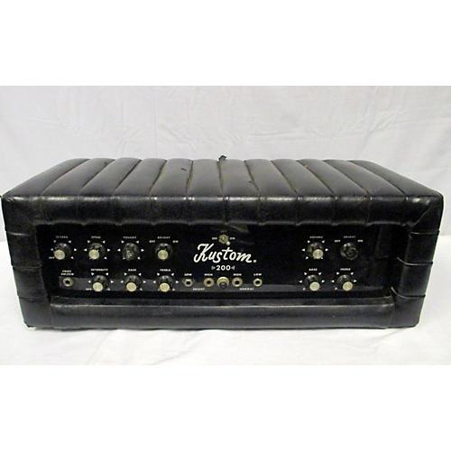 vintage kustom 1970s k 200b 2 solid state guitar amp head guitar center. Black Bedroom Furniture Sets. Home Design Ideas