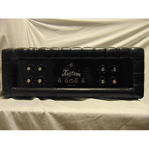 Kustom 1970s K200 Tuck And Roll Solid State Guitar Amp Head