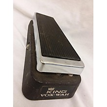 Vox 1970s King Wah Effect Pedal