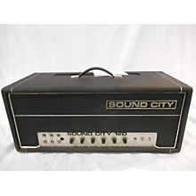 Sound City 1970s L120 Tube Guitar Amp Head