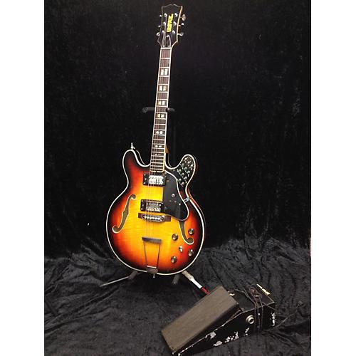 Univox 1970s M340 Guitarorgan Hollow Body Electric Guitar