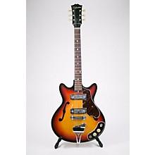Silvertone 1970s MIJ Hollow Body Electric Guitar