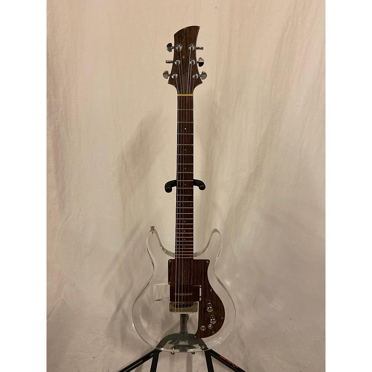 Electra 1970s Model 2246 Lucite Solid Body Electric Guitar