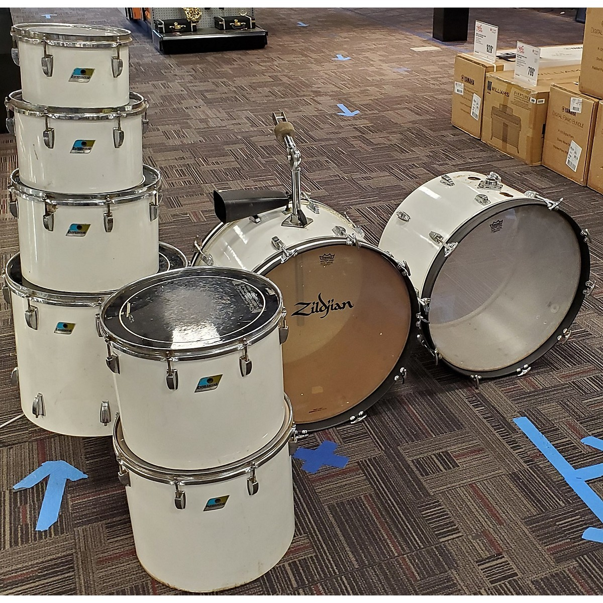 Ludwig 1970s Octo Plus Drum Kit