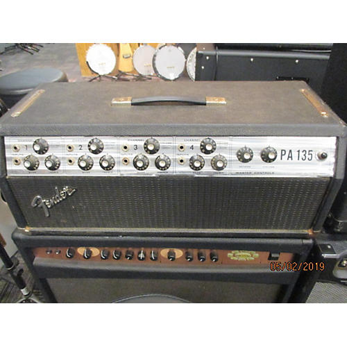 vintage fender 1970s pa 135 tube guitar amp head guitar center. Black Bedroom Furniture Sets. Home Design Ideas