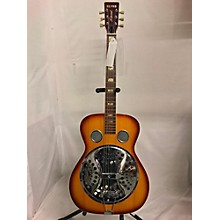 National 1970s Repro MIJ Resonator Sunburst Resonator Guitar