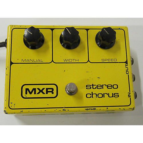 MXR 1970s STEREO CHORUS Effect Pedal