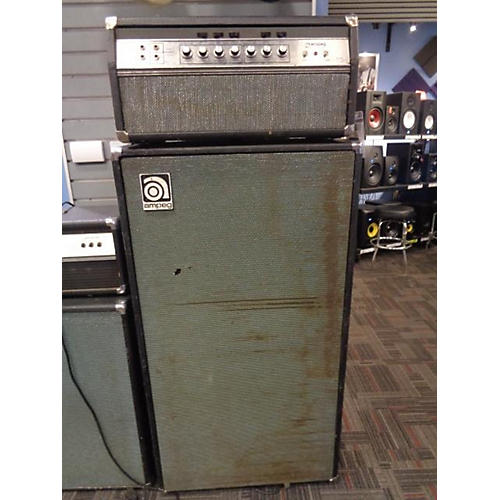 Ampeg 1970s SVT Head With 8x10 Cab Tube Guitar Combo Amp