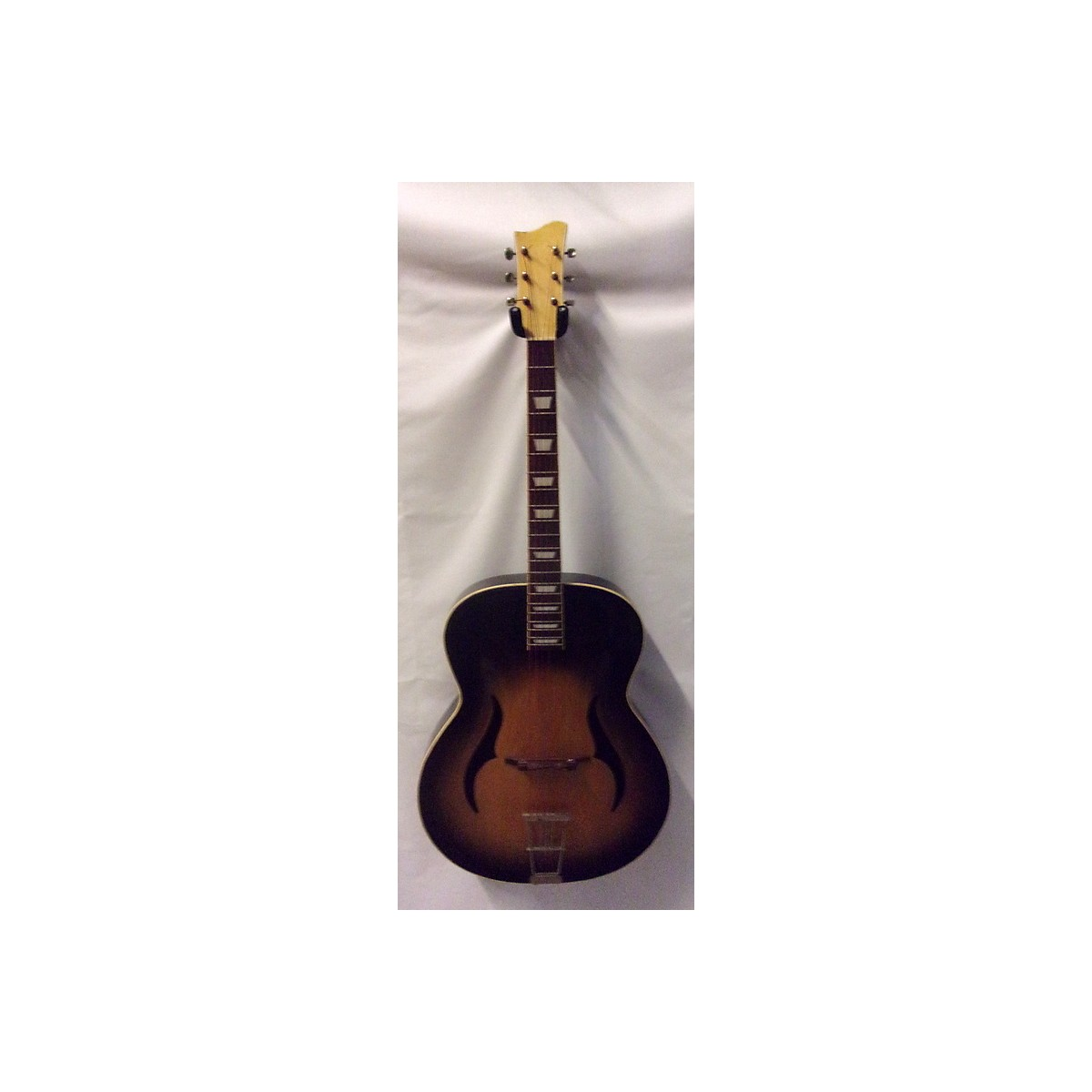Klira 1970s Semi Hollow Body Acoustic Guitar