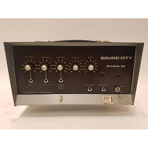Sound City 1970s Studio 20 Tube Guitar Amp Head