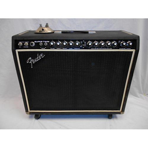 Fender 1970s Super Twin Tube Guitar Combo Amp