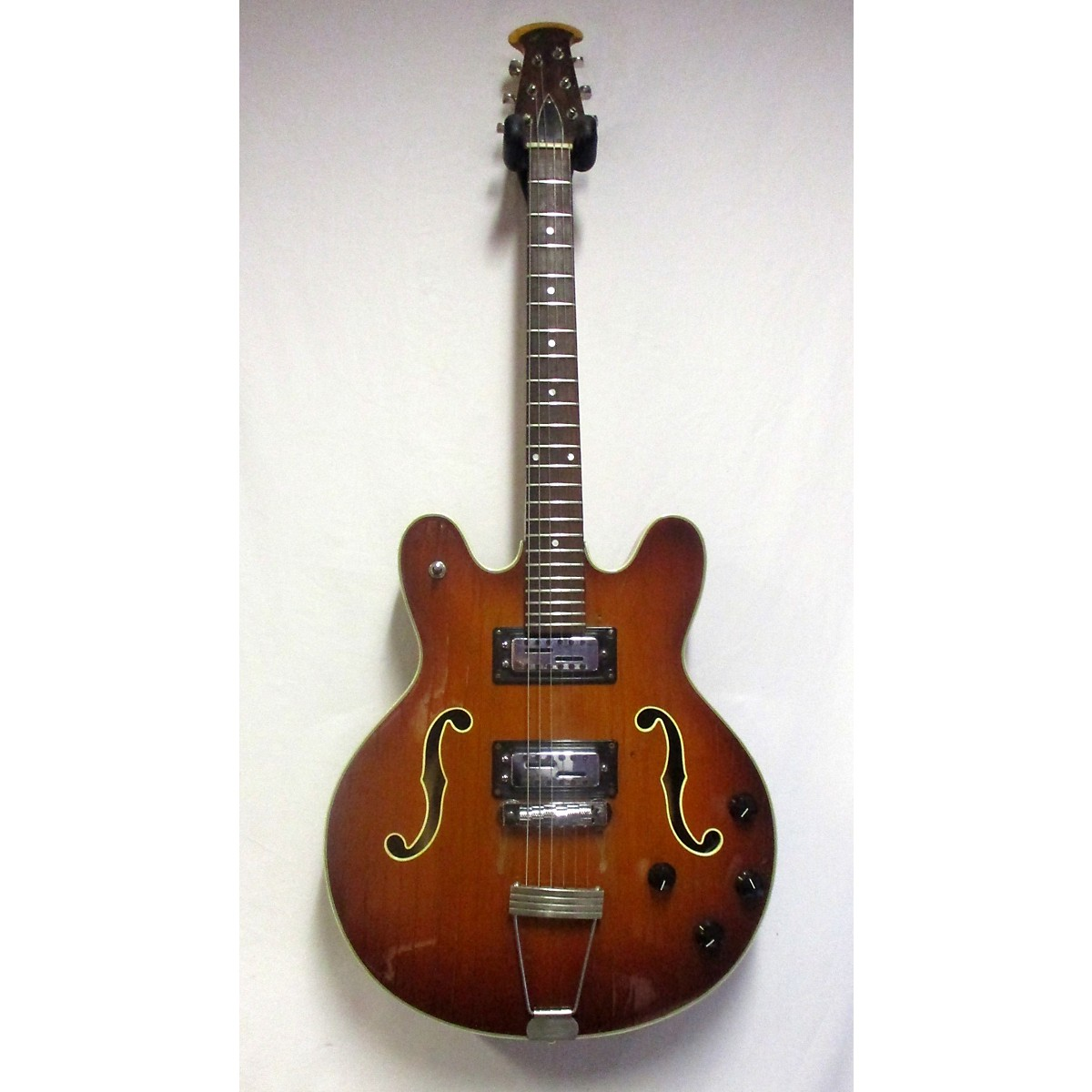 Ovation 1970s TORNADO Hollow Body Electric Guitar
