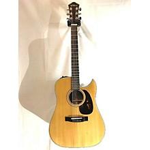 Ventura 1970s V27e Acoustic Electric Guitar