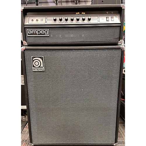Ampeg 1970s V4 Head And Cabinet Tube Guitar Combo Amp