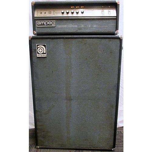 Ampeg 1970s V4B 100W & B25B Cab Tube Bass Amp Head