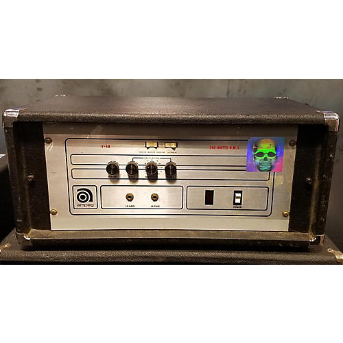 Ampeg 1970s V6-b Bass Amp Head