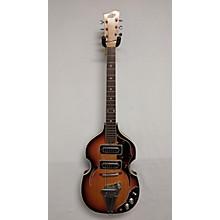 Teisco 1970s Violin Guitar Hollow Body Electric Guitar