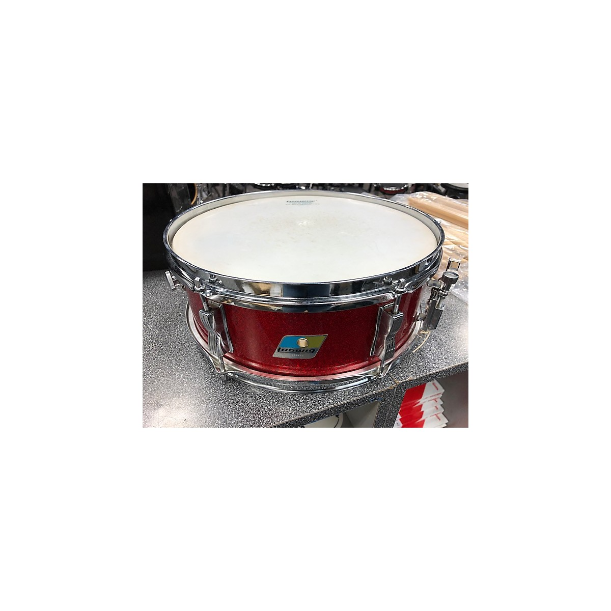Ludwig 1971 14X5.5 Snare Drum