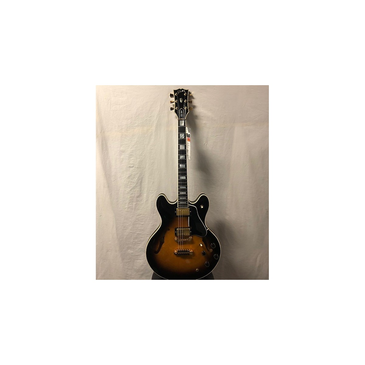 Gibson 1971 1971 Gibson ES-335TD Sunburst Hollow Body Electric Guitar