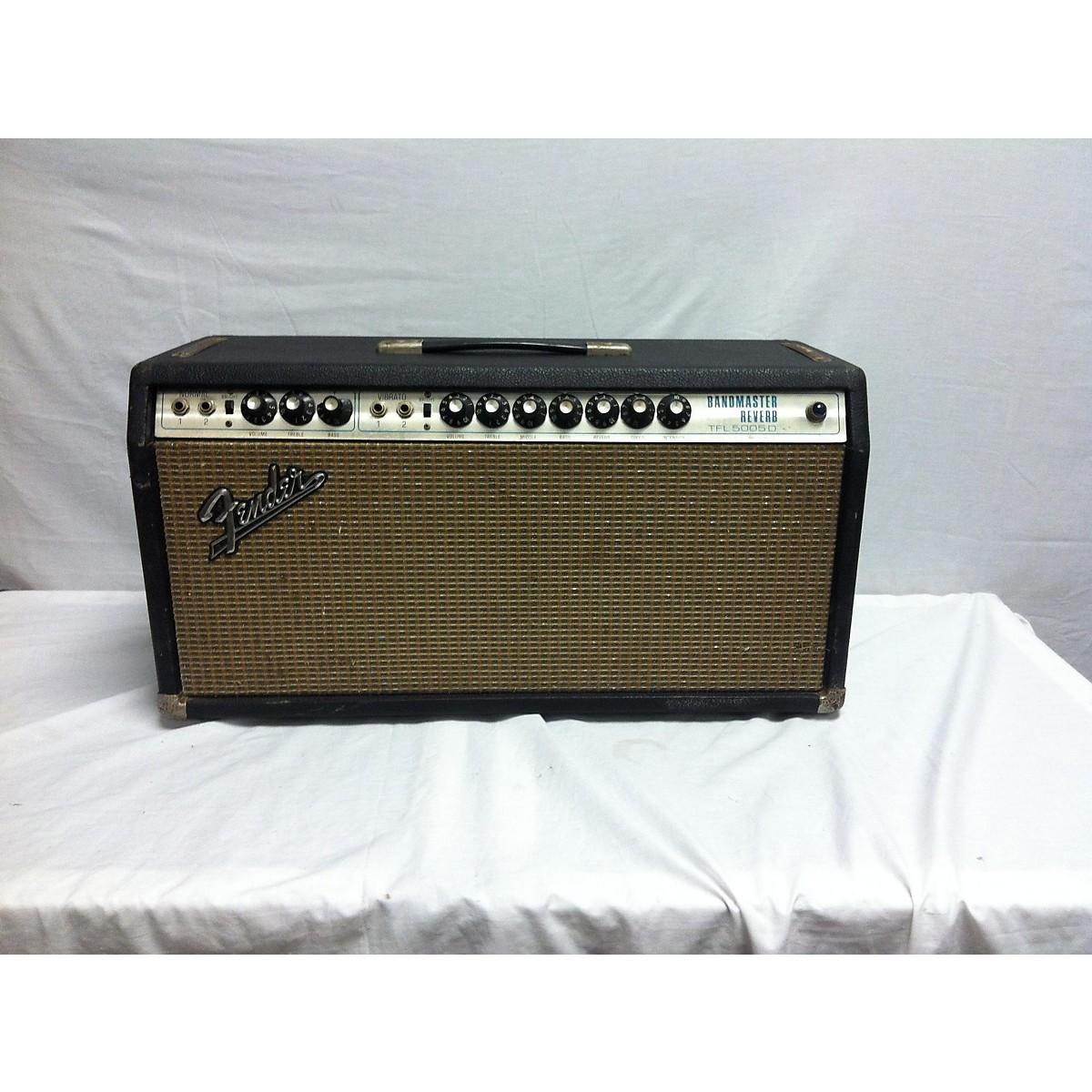 Fender 1971 BANDMASTER REVERB Tube Guitar Amp Head