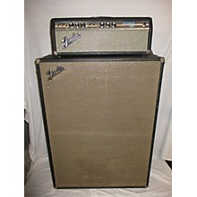 Fender 1971 Bandmaster Reverb W/ Cab Tube Guitar Amp Head