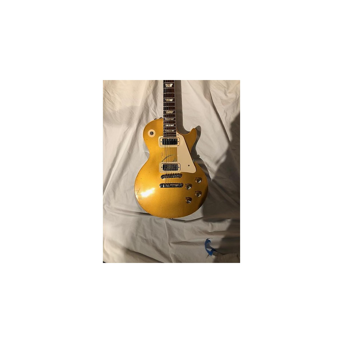 Gibson 1971 Les Paul Deluxe Solid Body Electric Guitar