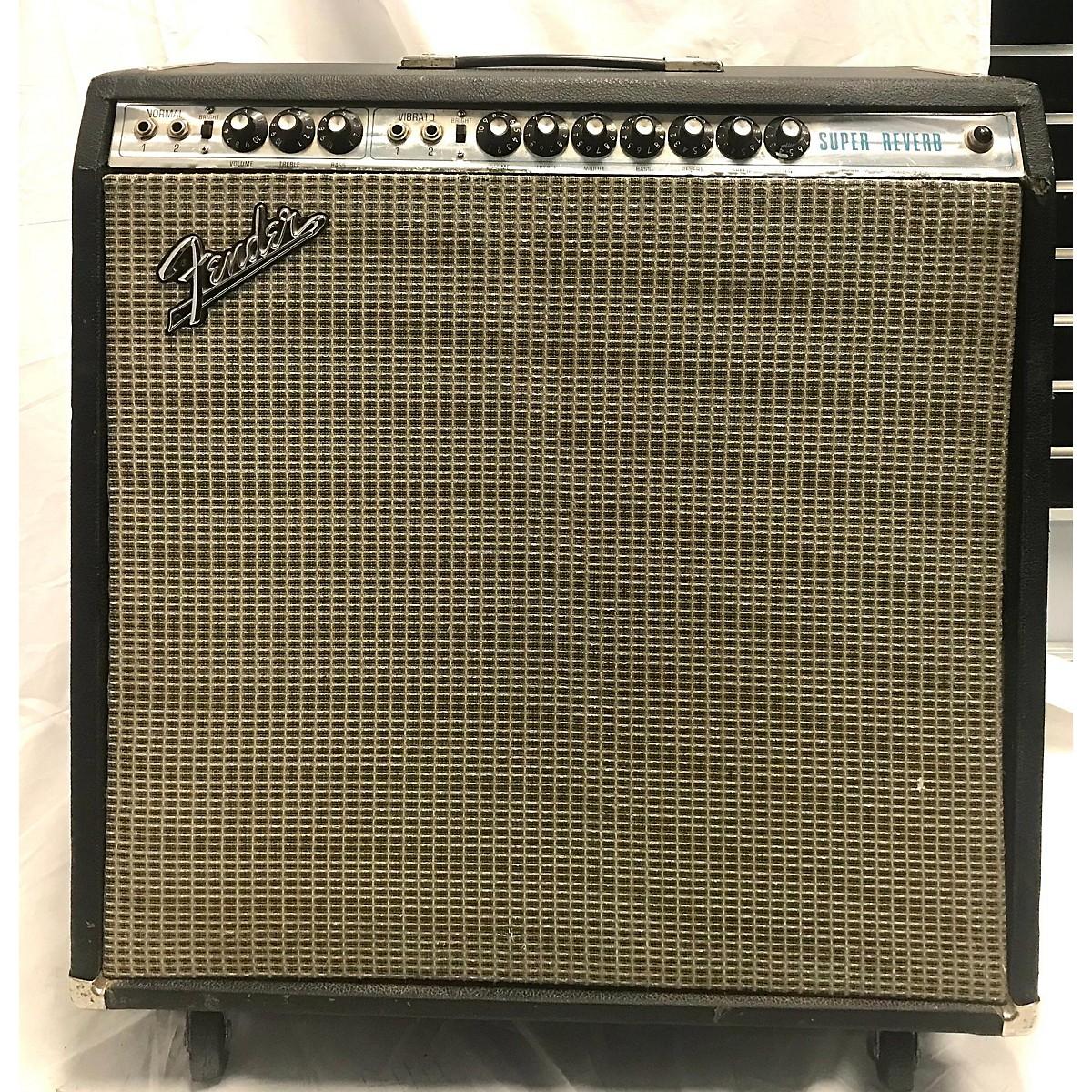 Fender 1972 1972 Super Reverb Tube Guitar Combo Amp