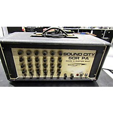 Sound City 1972 50R PA MARK 4 CUSTOM BUILT Tube Guitar Amp Head