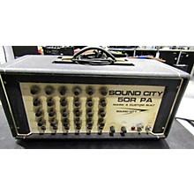 Sound City 1972 50R PA MARK 4 CUSTOM BUILT Tube Guitar Amp Head