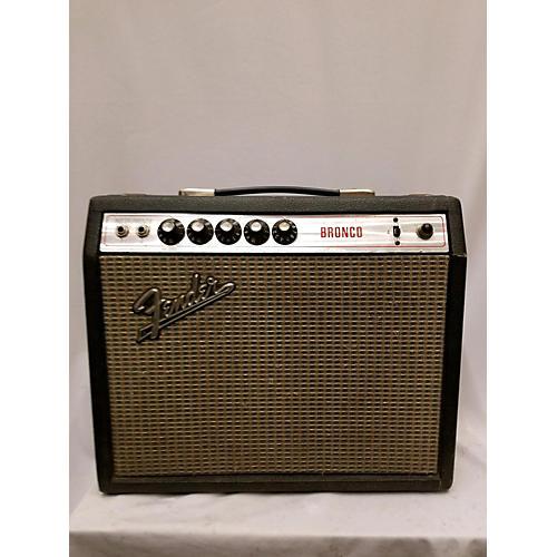 Fender 1972 Bronco Reg Logo Tube Guitar Combo Amp