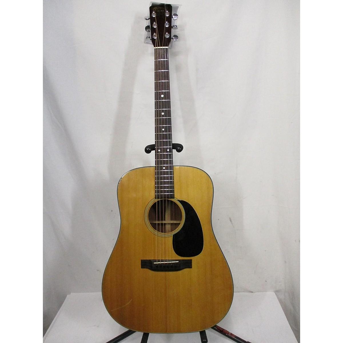 Martin 1972 D-18 Acoustic Electric Guitar