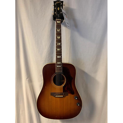 Gibson 1972 J160E Acoustic Electric Guitar